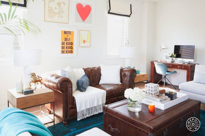 See Gwyneth Paltrow\'s Assistant\'s Small Space Makeover | Apartment ...