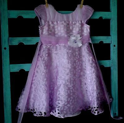 Jona Michelle Little Girls KIDS Formal Dress 5T lavender pink purple LACE floral https://t.co/m3rqAn0F9d https://t.co/93wr8RQzgw