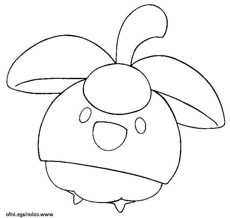 Coloriage Pokemon Soleil
