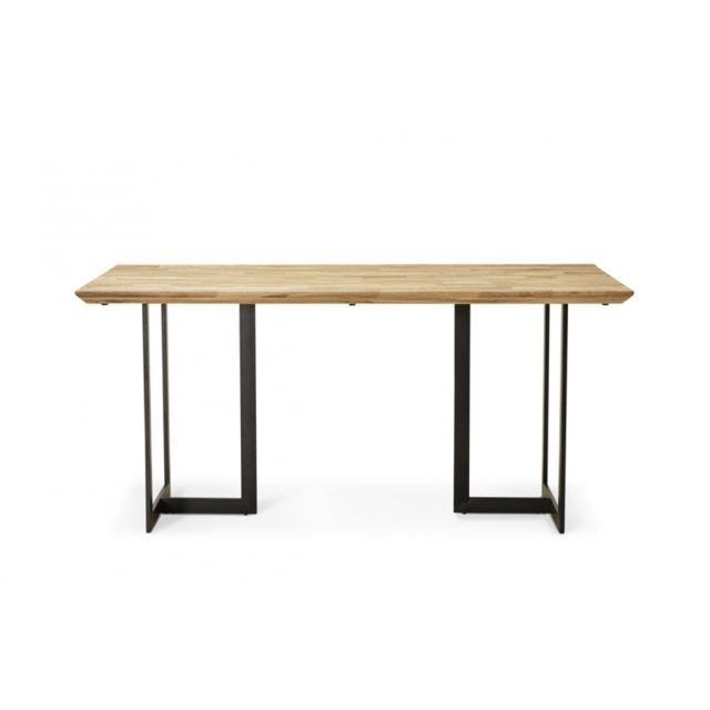 Skedia Table A Manger En Chene Massif Tables A Manger Table A