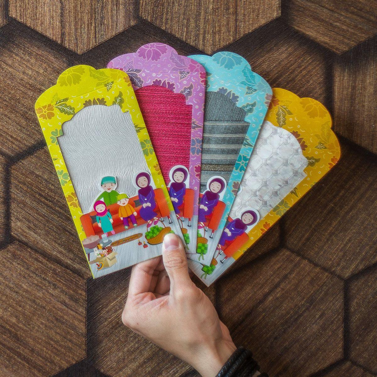 Raya Packet 2017 on Behance Korea wallpaper, Packet