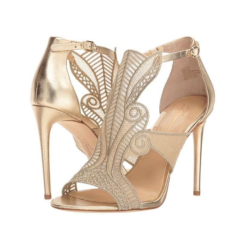 Gold Art Nouveau Heels Gatsby Shoes Vintage Style High Heels Shoes Heels Vintage Art Deco Wedding Shoes Wedding Shoes Vintage