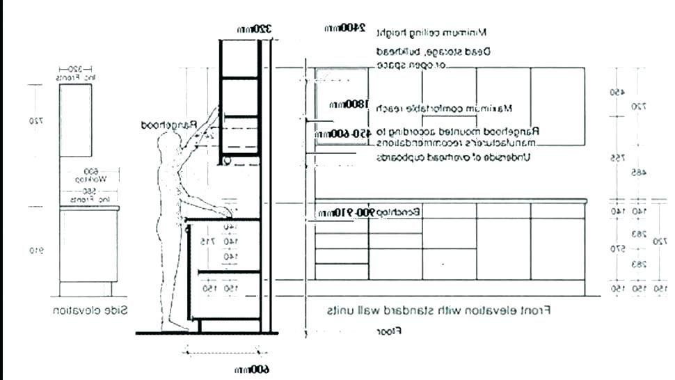 Standard Kitchen Cabinet Dimension, Standard Kitchen Cabinet Height Singapore