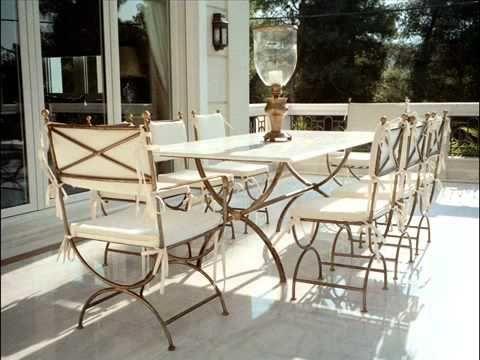 Wrought Iron Outdoor Furniture, White Wrought Iron Garden Furniture Uk