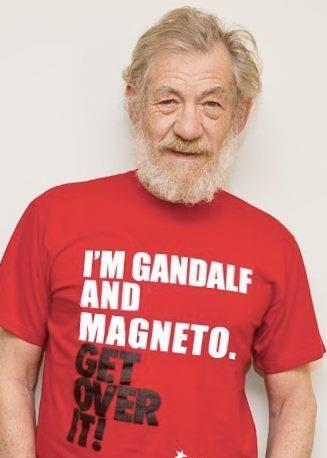 get over it | Ian mckellen, Love actually, Geek shirts