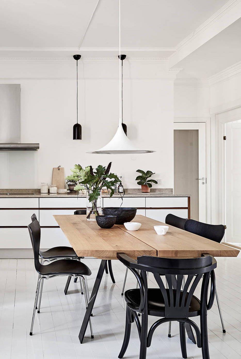 Neutral And Monochrome Via Coco Lapine Design Kitchen Pinterest Monochrome Neutral And