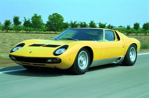 First Lamborghini Ever Made >> 1966 1972 Lamborghini Miura The First Mid Engine Sports Car Ever