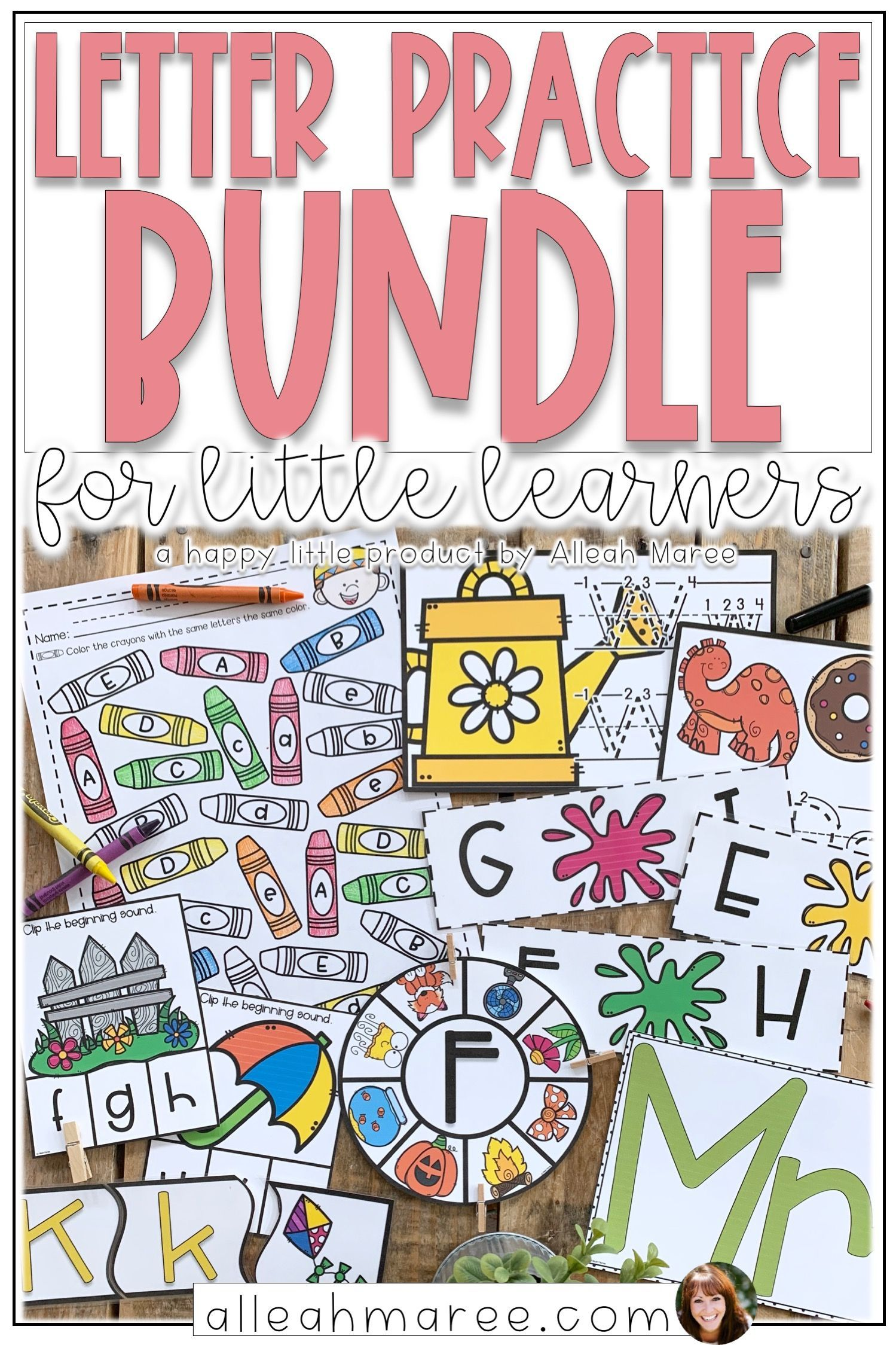 Alphabet Letter Writing Practice Worksheets And Centers