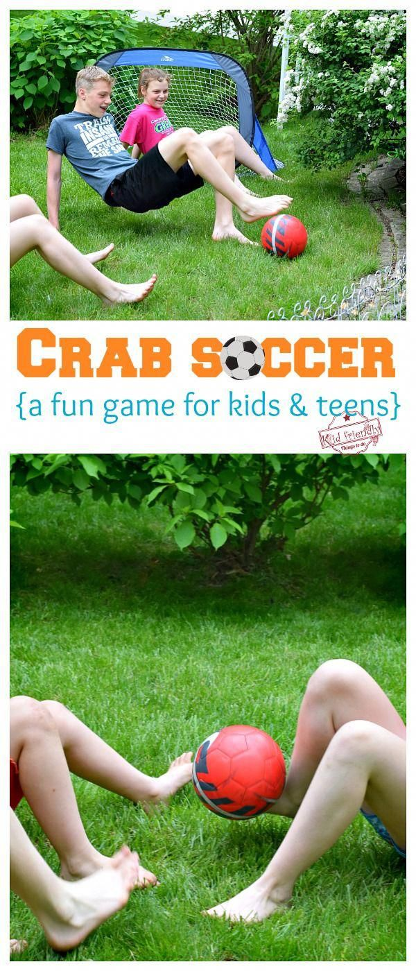Crab soccer is a hilarious soccer game for kids and teens