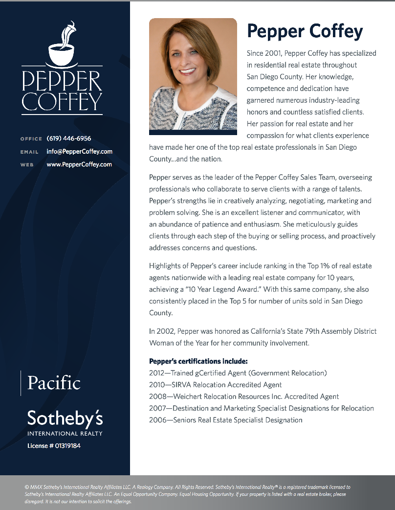 Pepper Coffey, Realtor Bio | Our Work | Pinterest | More Real ...