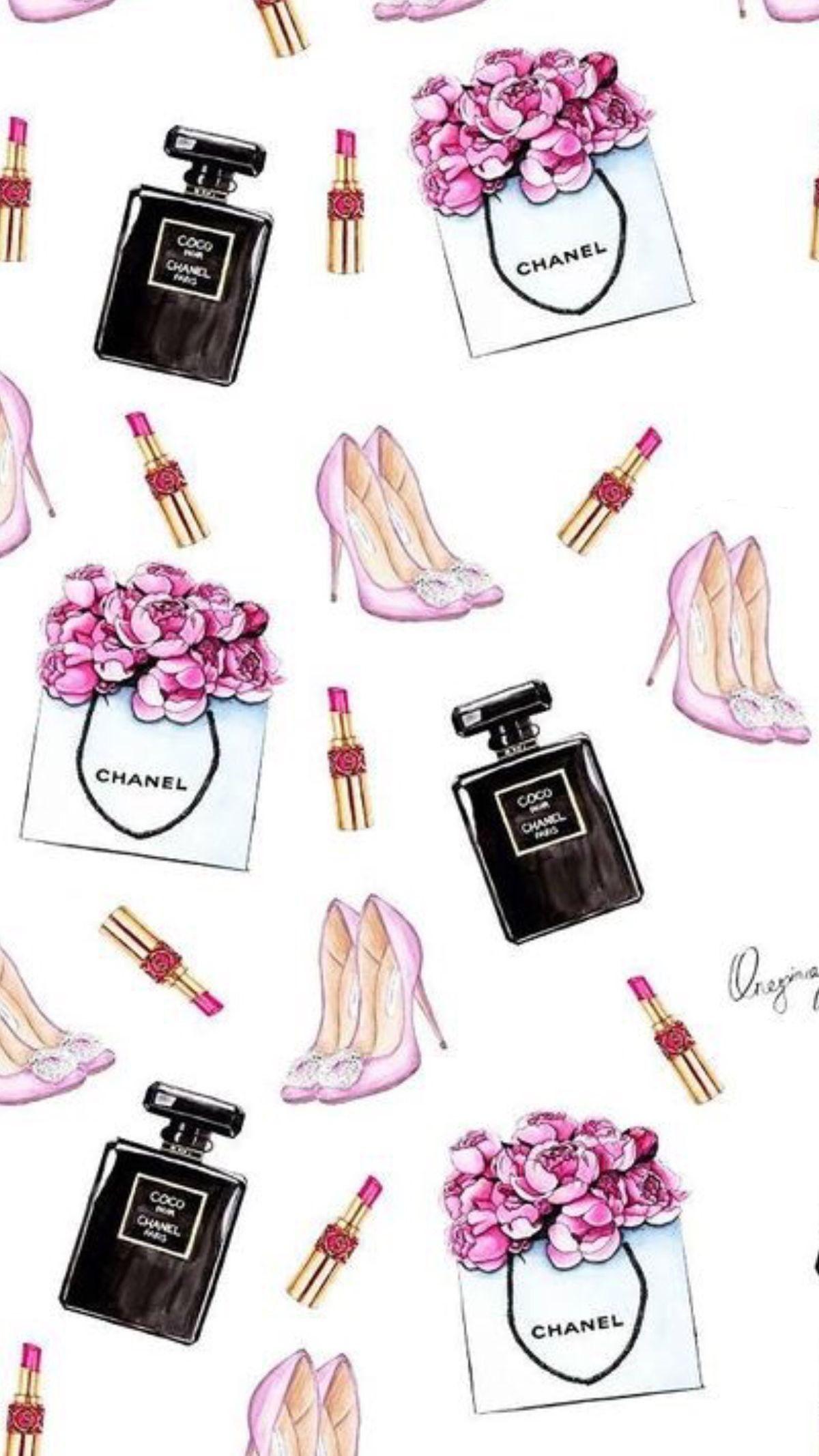 Leuk Als Inpakpapier Chanel Art Chanel Wallpapers Fashion Wallpaper