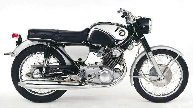 1965 honda 305 superhawk cb77 just like dad s motorcycles rh pinterest com
