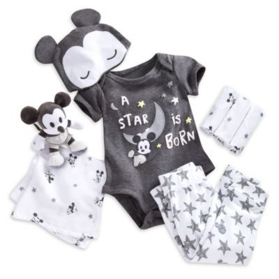 d69be67e0 Welcome new arrivals in true Disney style with this adorable Mickey ...