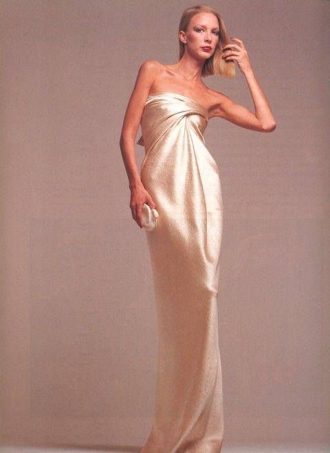 Karen Bjornson for Halston by Scavullo 1976 | Couture | Pinterest ...