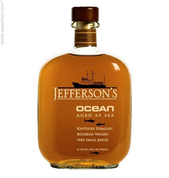 Jefferson's 'Ocean' Aged at Sea Very Small Batch Straight Bourbon Whiskey, Kentucky, USA