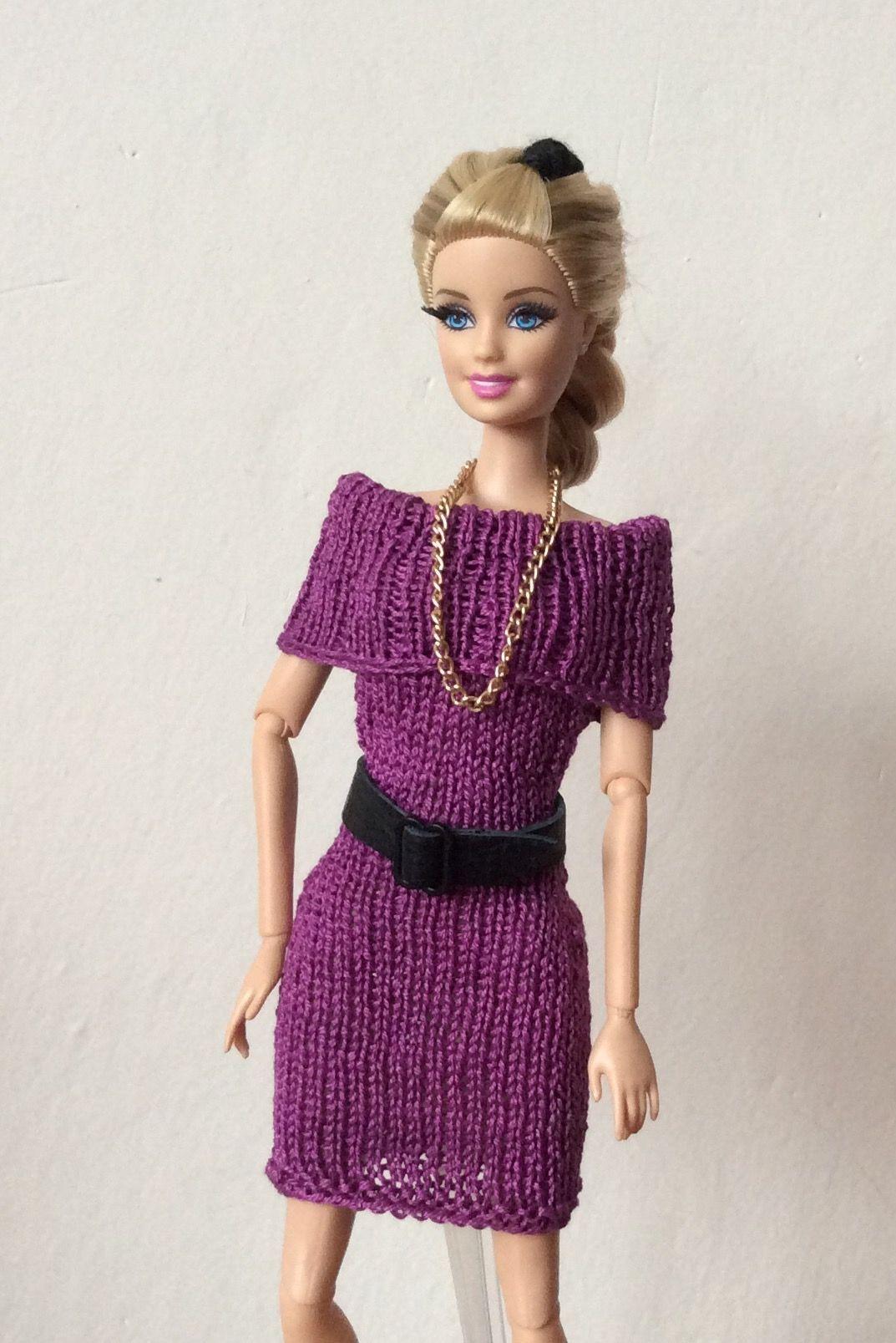 Pin de Hortenza en Poupées | Pinterest | Barbie, Dos agujas y Ropa ...