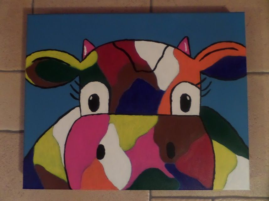 Koe in kleur