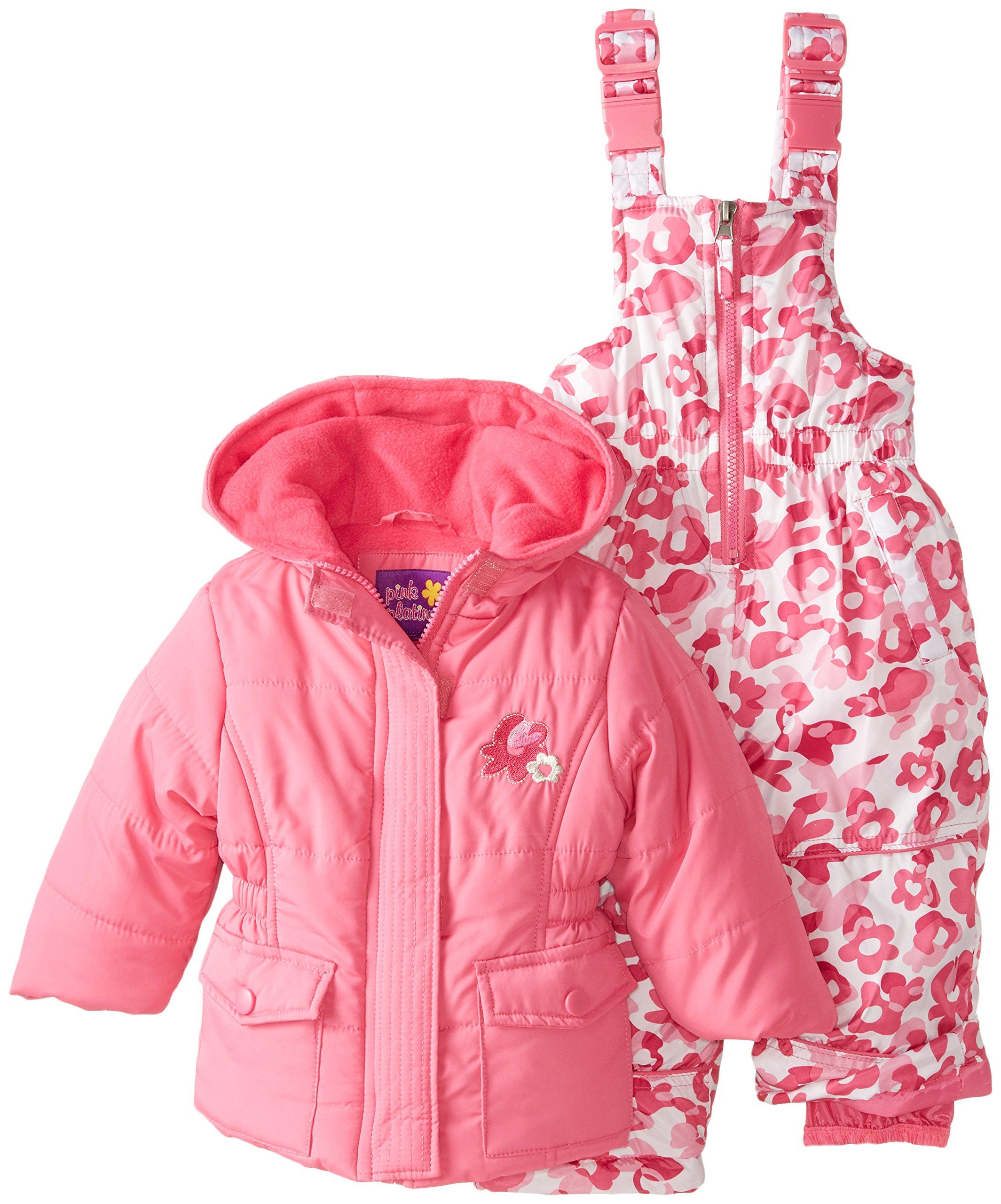 puffer shoes shipping girls free pink over on platinum snowsuit baby overstock camo bunting product winter floral orders pram clothing carbag