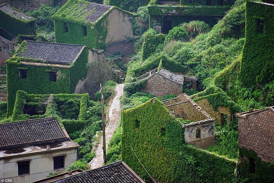 Abandoned Fishing Village In Gouqi Island, China Photography By ...
