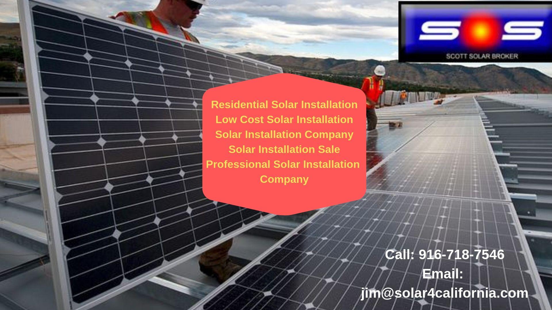 Professional Solar Installation Company In Woodland Ca Solar Installation Solar Solar Panel Companies