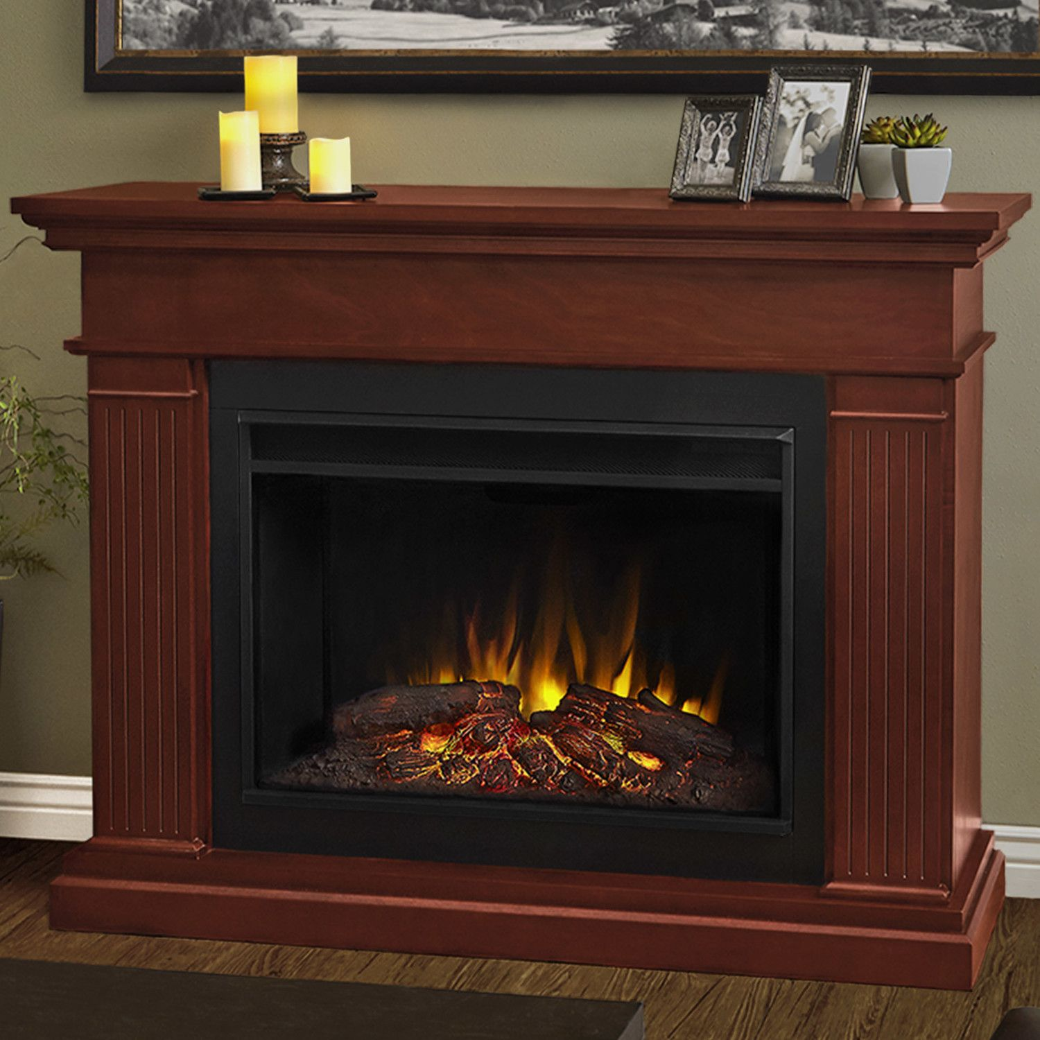 Wonderful Real Flame Kennedy Grand Electric Fireplace   The Real Flame Kennedy Grand Electric  Fireplace Is An Excellent Option To Add A Functional Piece Of Art To ...