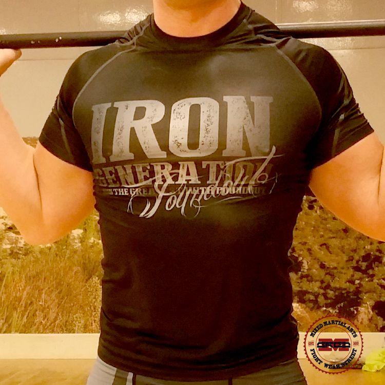 Rashguard Iron Generation • VersionSub-Skin Tech • Una segunda piel • Polyester: 92% , 8% Elastane (lycra)