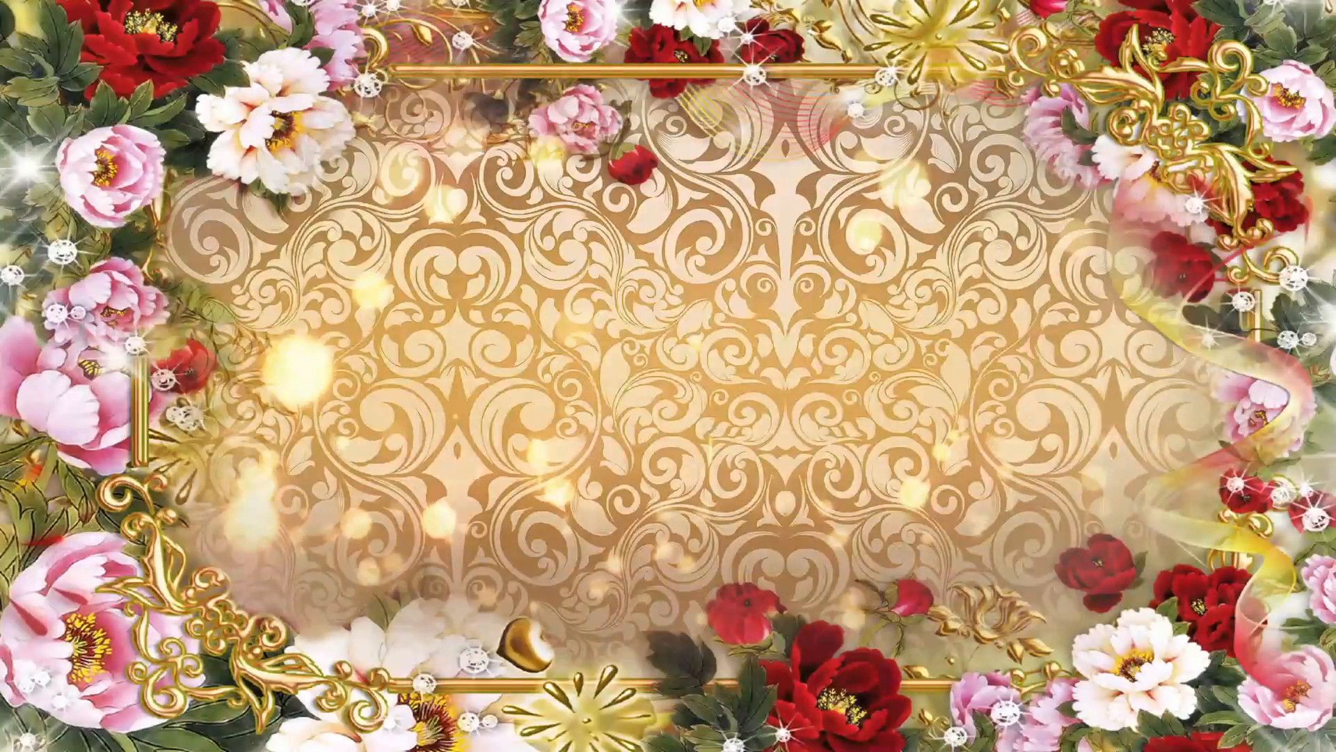1920x1080 Multicolored Flowers Abstract Wedding Background 06 Stock Video Footage Videobl Wedding Background Wedding Background Images Wedding Videographer