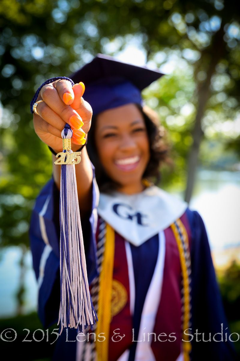 Cap and Gowns #augustaphotographer #seniorpics | Our High School ...