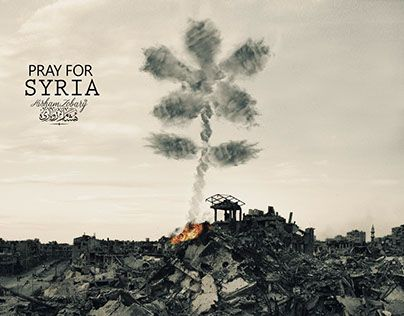 "Check out new work on my @Behance portfolio: ""pray for syria"" http://be.net/gallery/41466185/pray-for-syria"