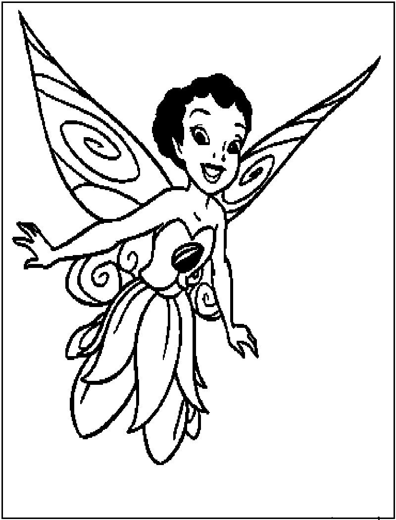 Fairy iridessa disney coloring page my art gallery pinterest