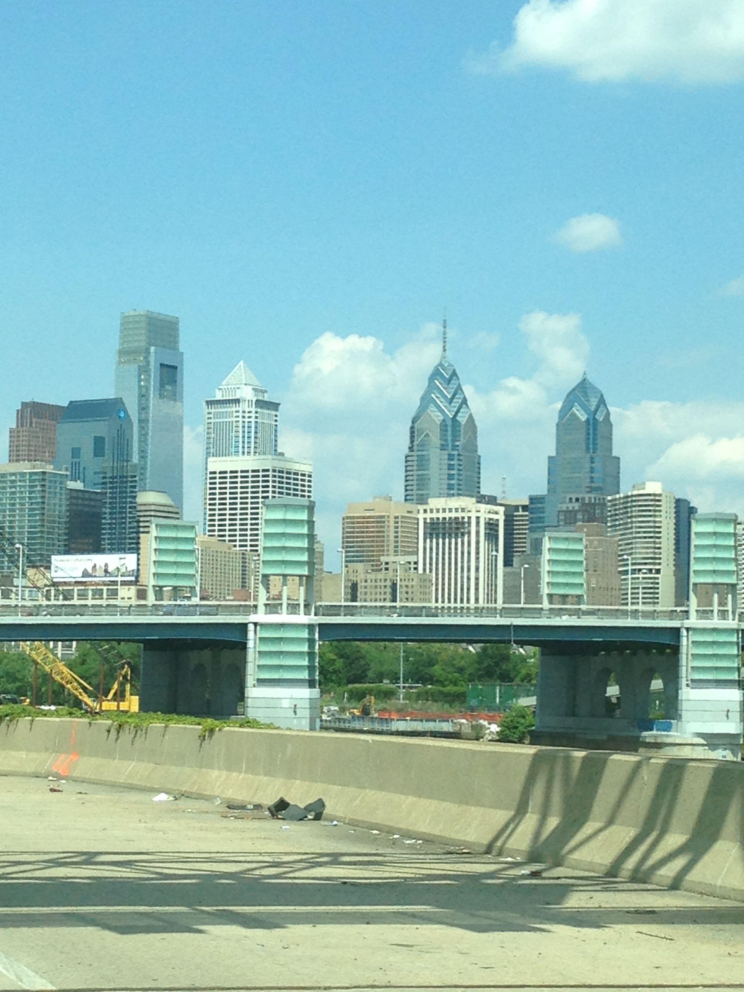 Skyline shot from the #schulkill #philadelphia #philly