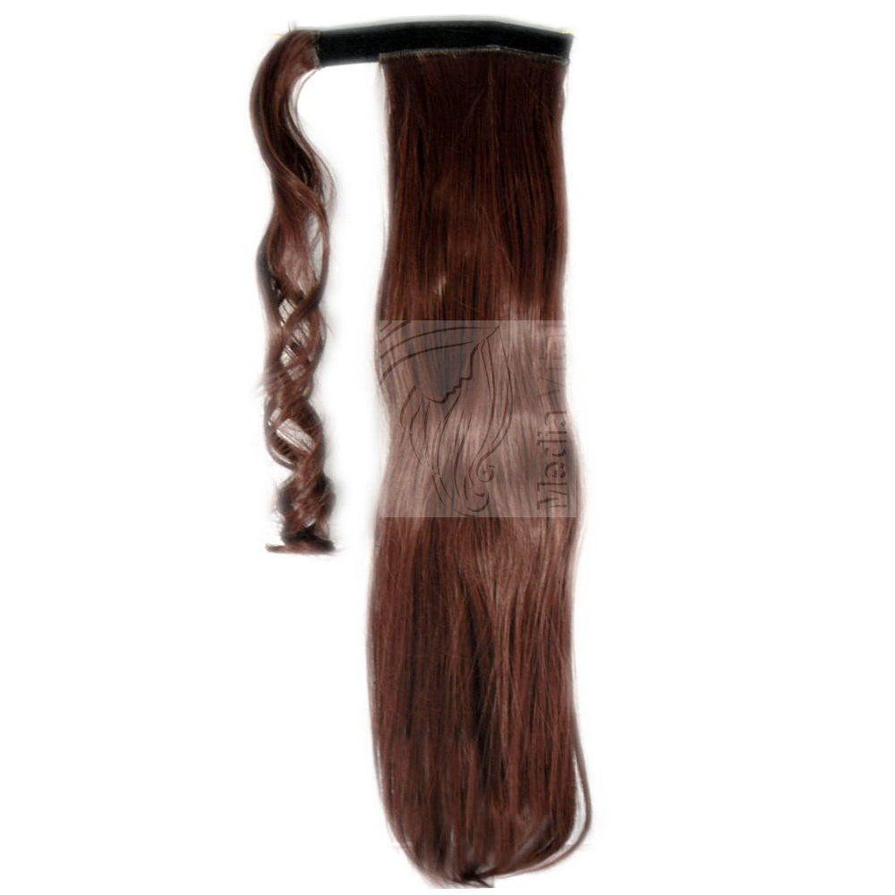 Haarverlngerung Ponytail Zopf Pferdeschwanz Haarteil Verdichtung