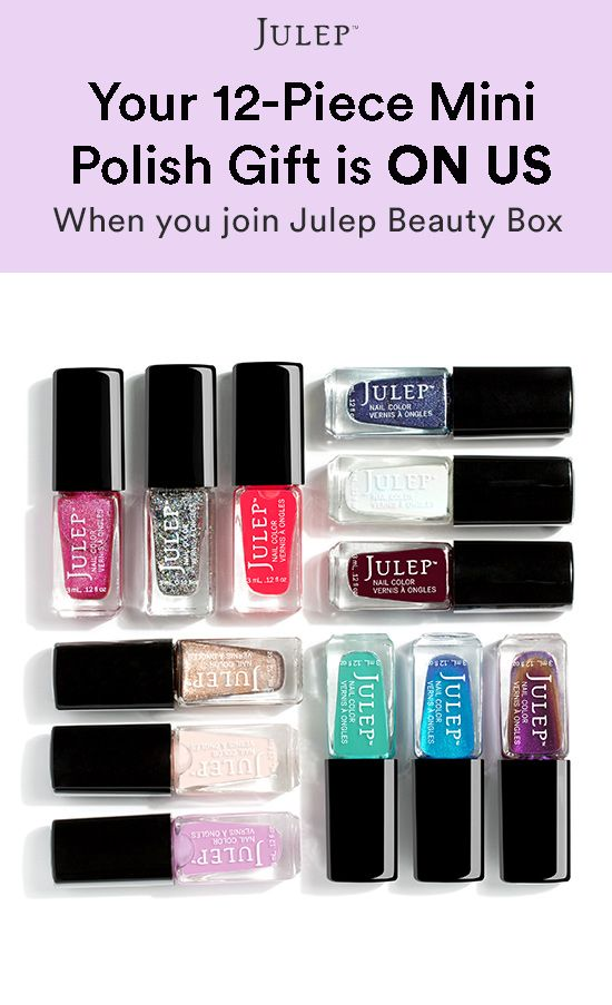 Sign up for Julep beauty box and get our best-selling 12-Piece Mini ...