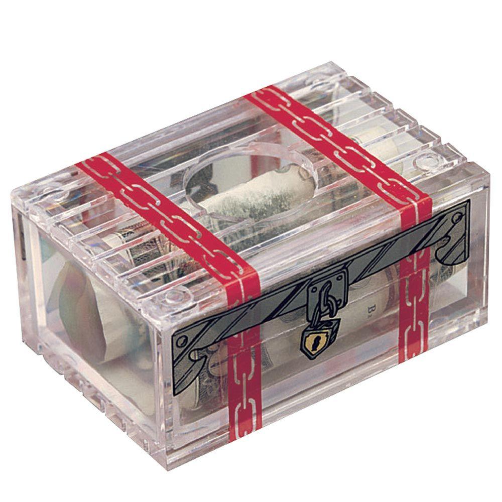 Can you unlock the treasure box money puzzle box brain