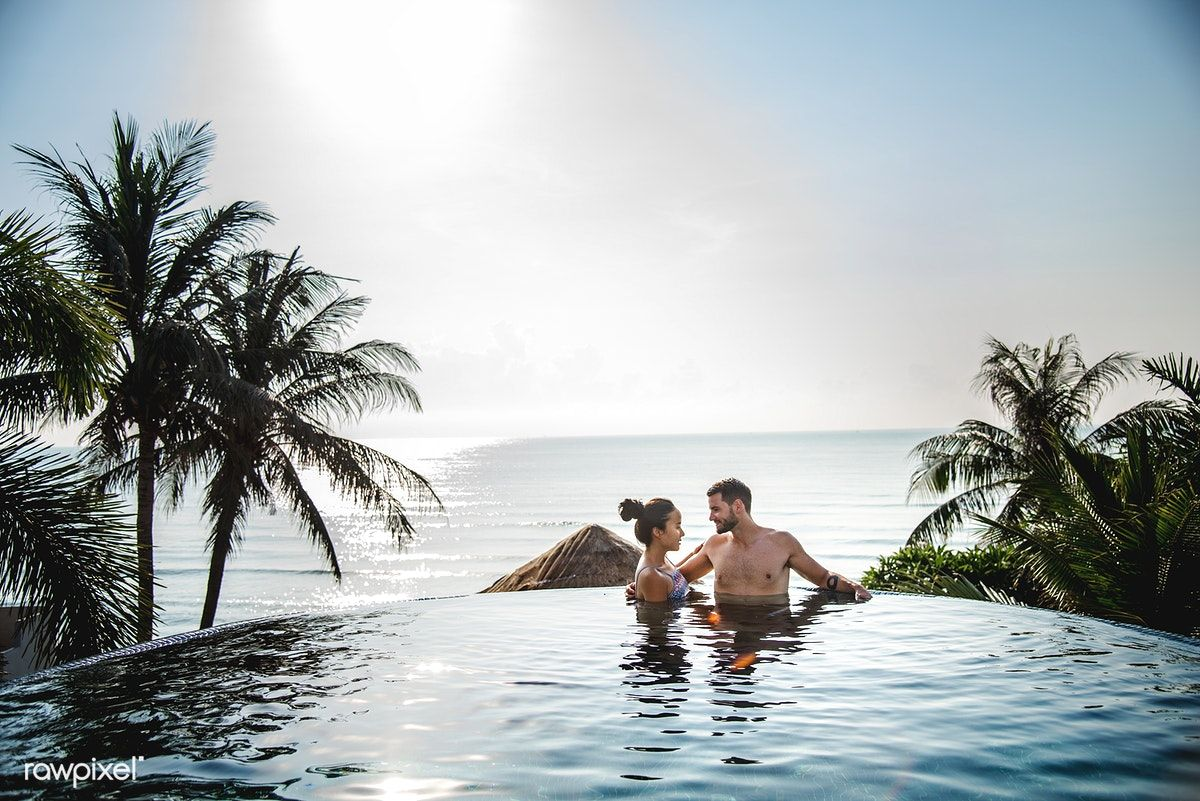 Download Premium Image Of Couple Relaxing In A Swimming Pool 424171 Romantic Weekends Away Pool Photography Pool Poses Download swimming pool hd wallpapers to