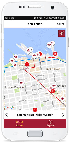 San Francisco Red Route   Sightseeing   Big Bus Tours ...