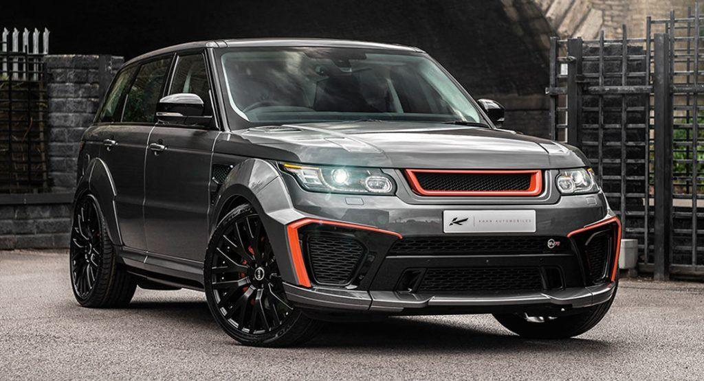 Range Rover Sport SVR Gets Wild Upgrades From Kahn Design