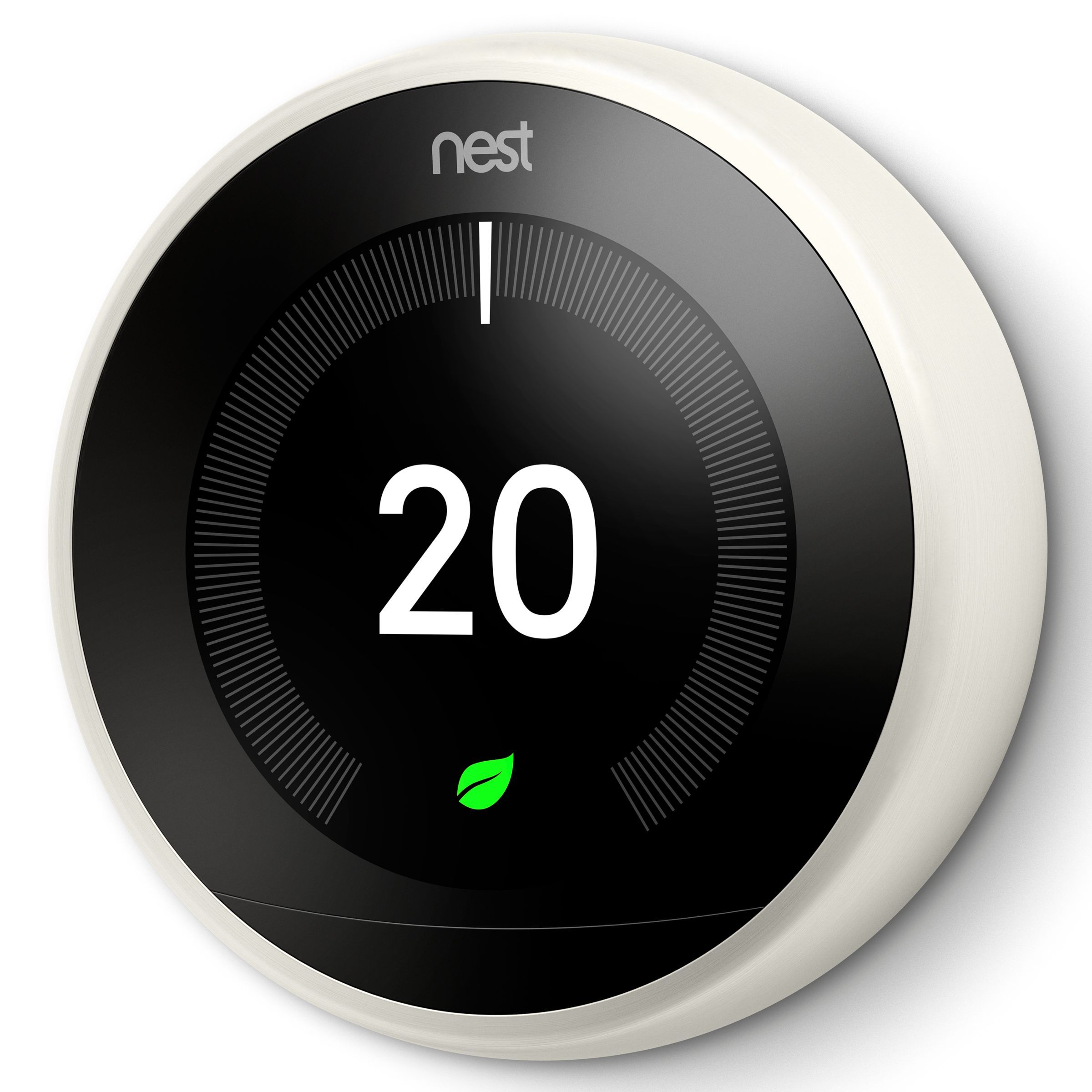 Google Nest Learning Thermostat  3rd Generation  Black