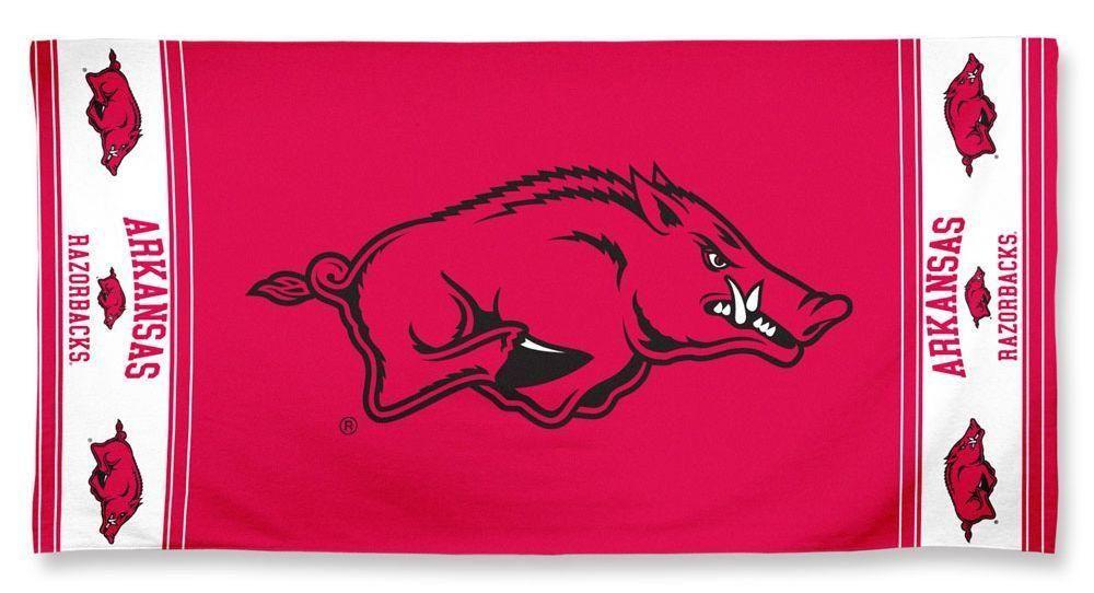 Arkansas Razorbacks Beach Towel | Arkansas razorbacks ...