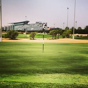 9th hole earlier at The Track, not a great round all over the place, fore!! #dubai #abudhabi #golf #uaegolf #uae #emirates #golfer #golfing #mydubai #socialgolf #sun #happy #like #smile #instagood #instagolf #love #tagsforlikes #follow #iphone #photoofthe