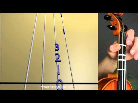 How to Play You Are My Sunshine on the Violin - YouTube ...