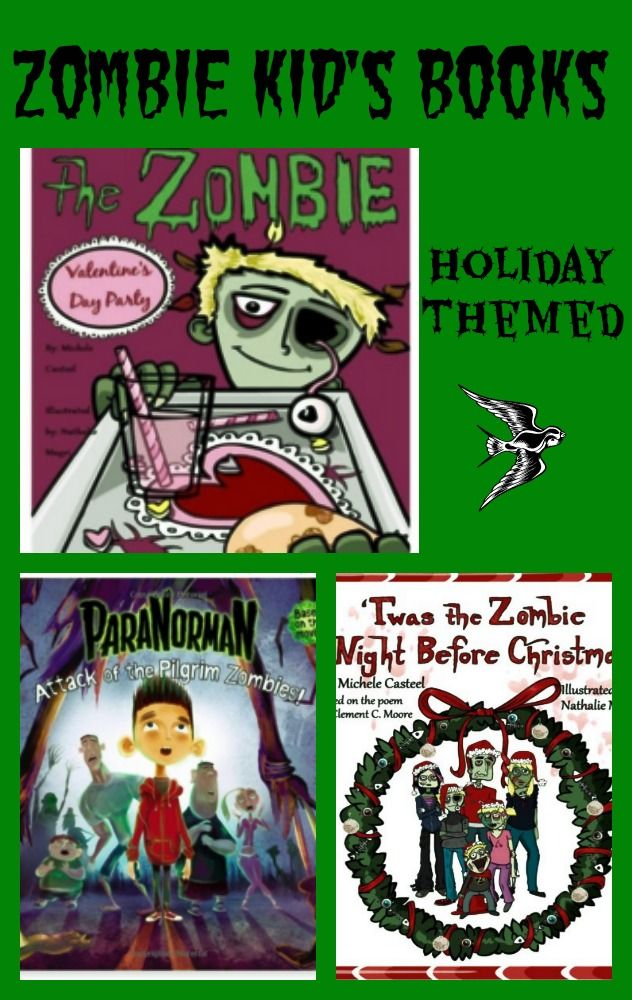 zombie books for kids by age theme category books