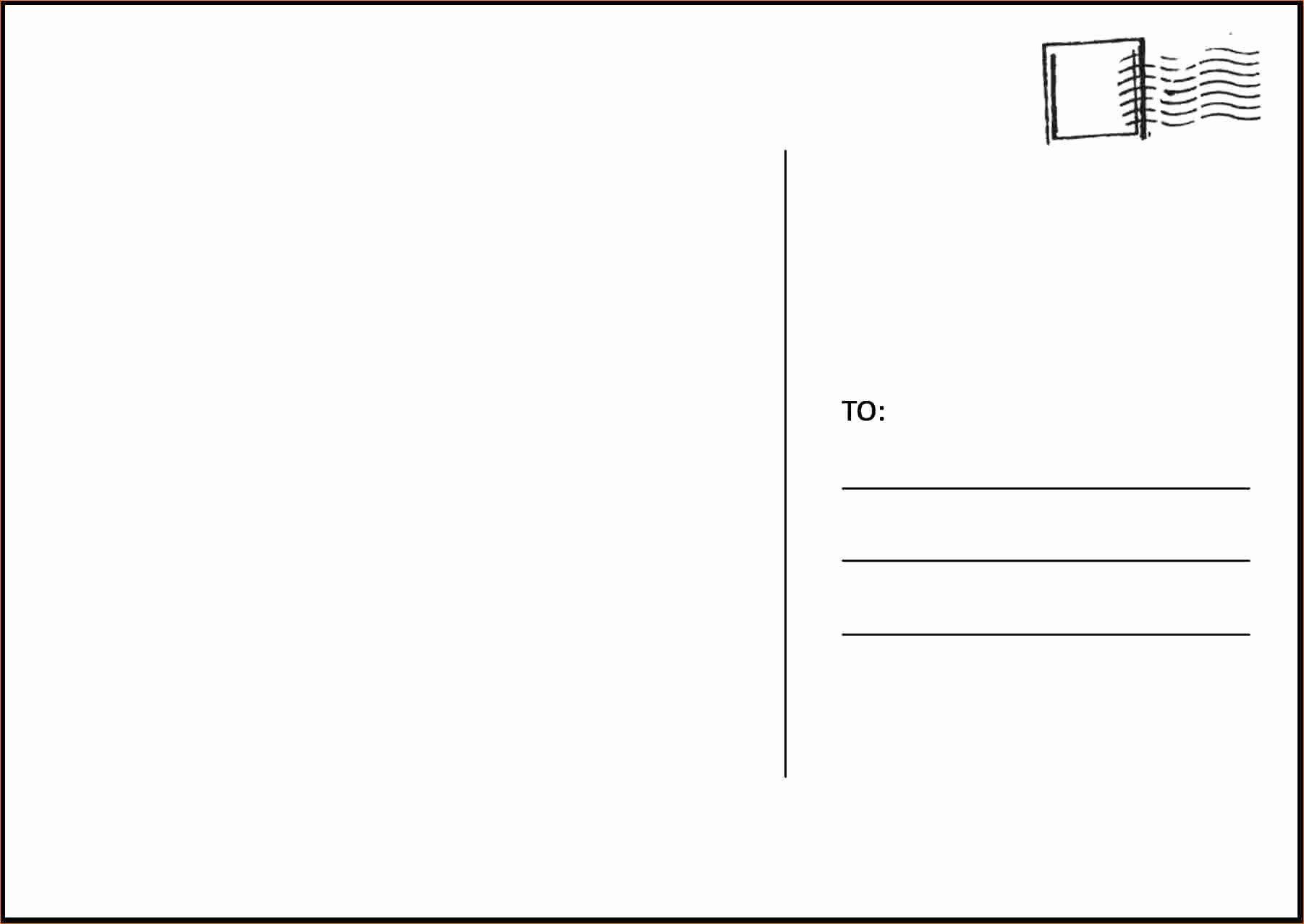 50 Inspirational Microsoft Word 4 6 Postcard Template In