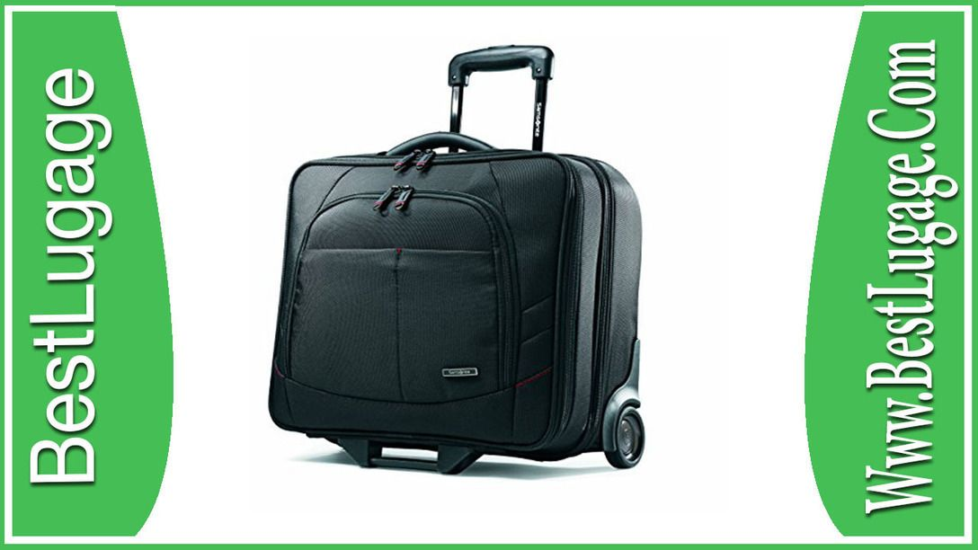 Samsonite Luggage Xenon 2 Mobile Office Review With Images
