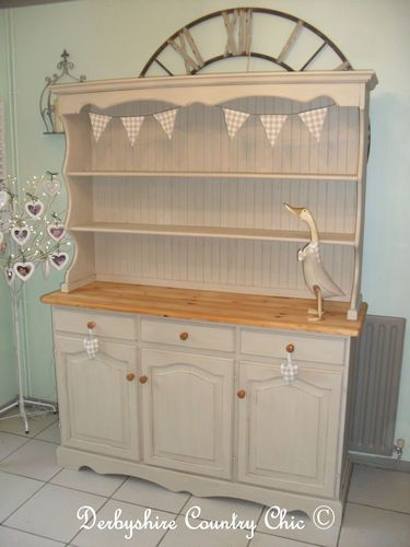 Beautiful Large Shabby Chic Pine French Style Farmhouse Country ...