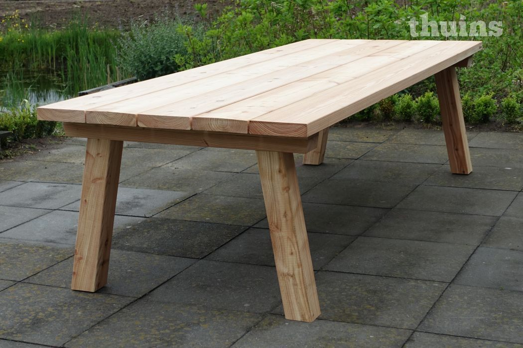 Tuintafel Douglas Hout Lono In 2020 With Images Patio Table