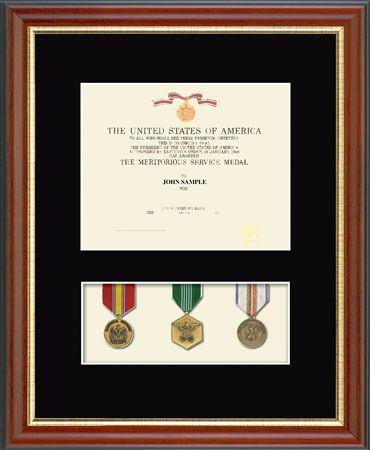 Certificate and Medal Display Frames | We love our U.S. Military ...