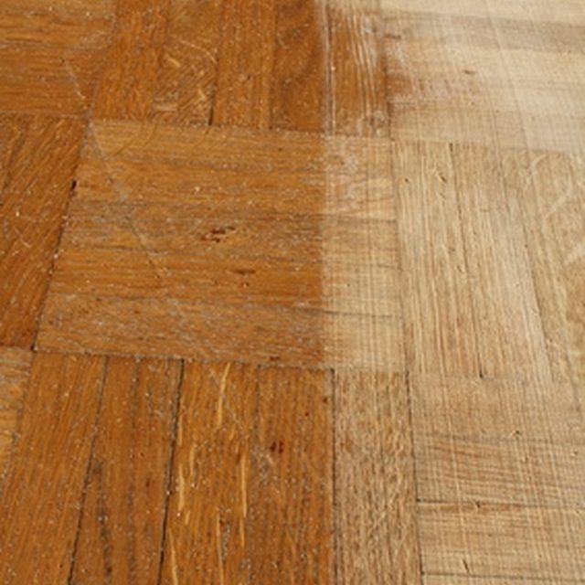 Cleaning Fake Wood Floors: How To Clean Old Parquet Floors