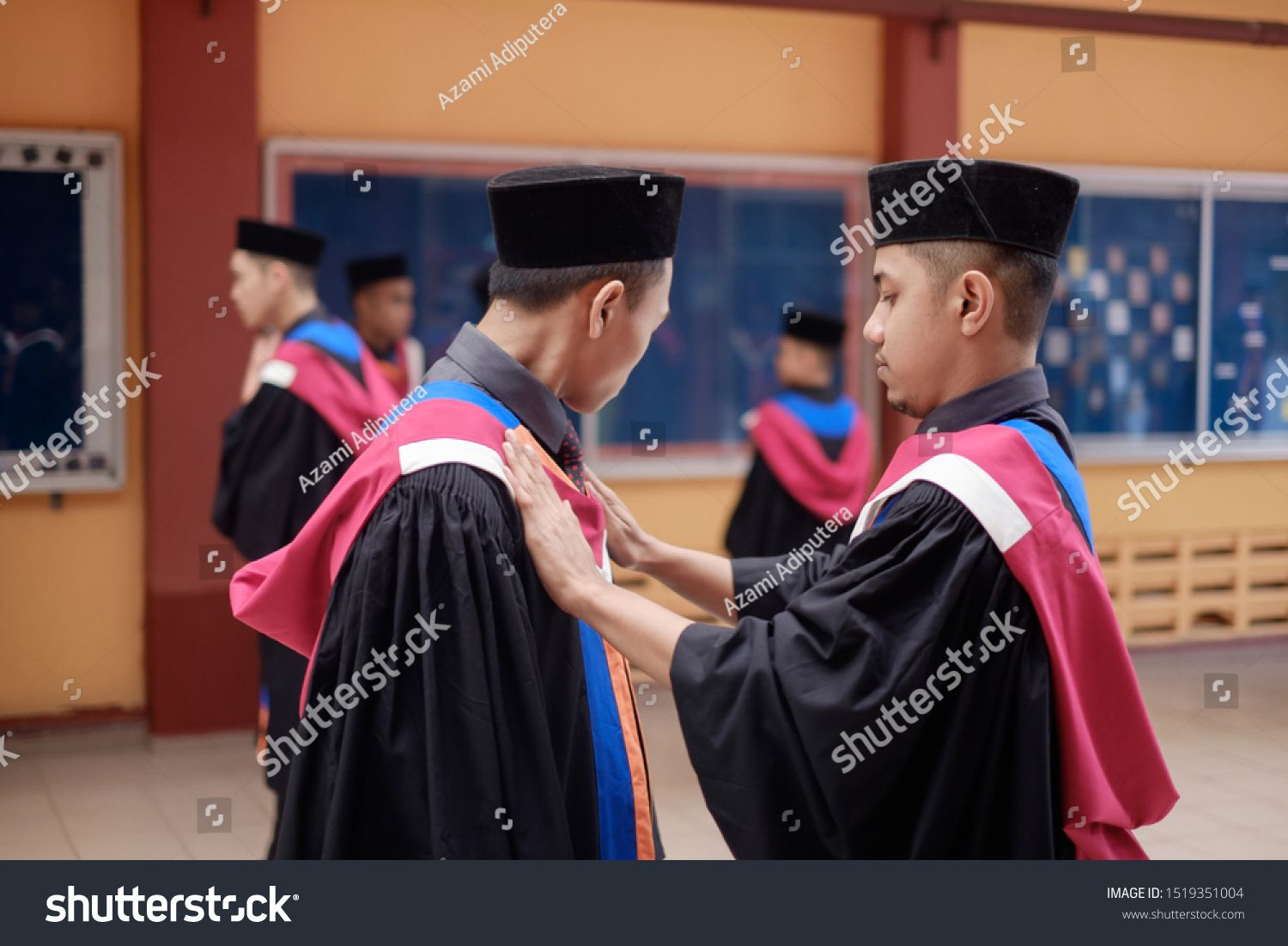 Muadzm Shah Malaysia August 28th 2019 Cheerful Faces During Convocation Ceremony Held By The College It Shown Ho In 2020 Photo Editing Study Hard Stock Photos