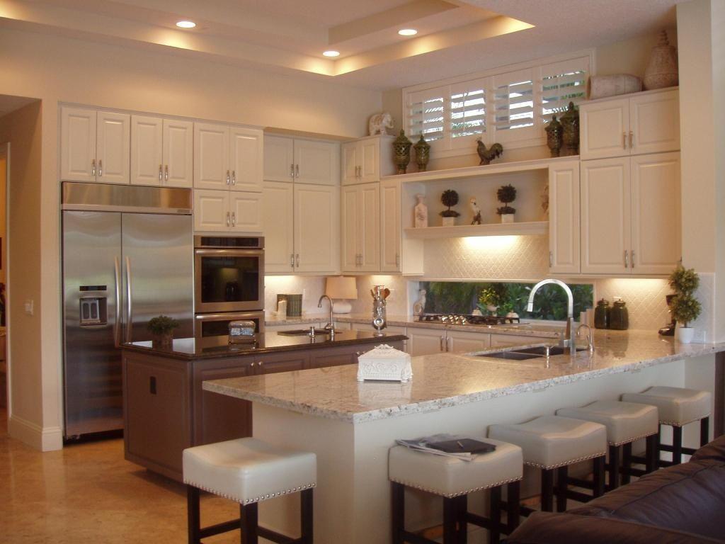 u shaped kitchen with island google search kitchen